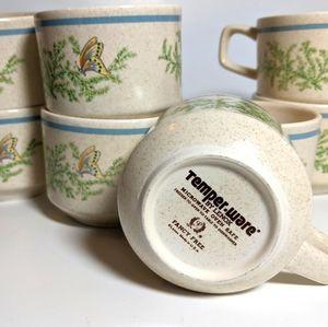 Temper Ware mugs (set of 2)